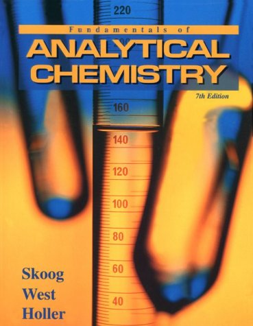 Fundamentals of Analytical Chemistry  7th 1996 edition cover
