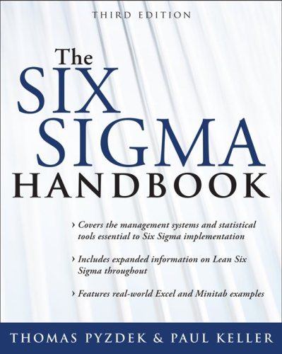 Six Sigma Handbook  3rd 2009 edition cover