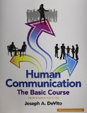 Human Communication The Basic Course 13th 2015 9780133866384 Front Cover