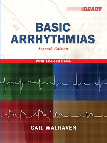 Basic Arrhythmias  7th 2011 edition cover