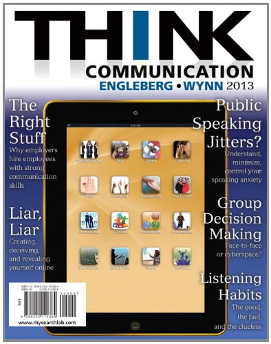 THINK Communication  2nd 2013 (Revised) edition cover