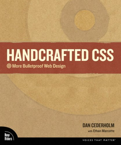 Handcrafted CSS More Bulletproof Web Design  2010 edition cover