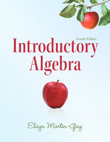 Introductory Algebra  4th 2012 (Revised) edition cover