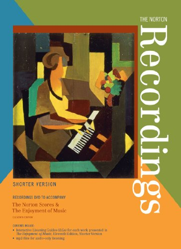Norton Recordings Norton Scores and the Enjoyment of Music 11th edition cover