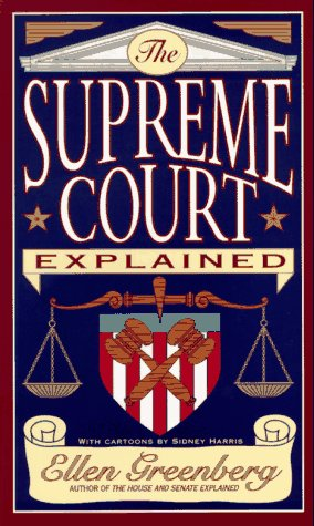 Supreme Court Explained  N/A 9780393316384 Front Cover