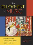 Enjoyment of Music  12th 2015 9780393936384 Front Cover