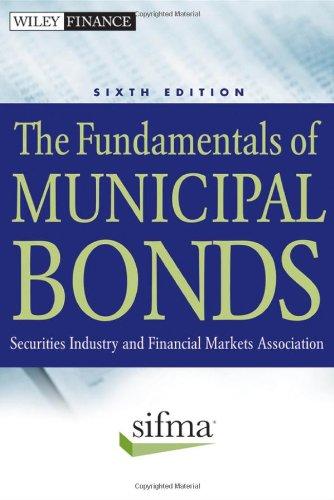 Fundamentals of Municipal Bonds  6th 2012 edition cover