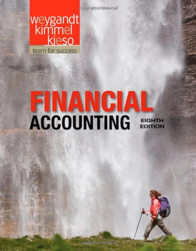 Financial Accounting  8th 2012 edition cover