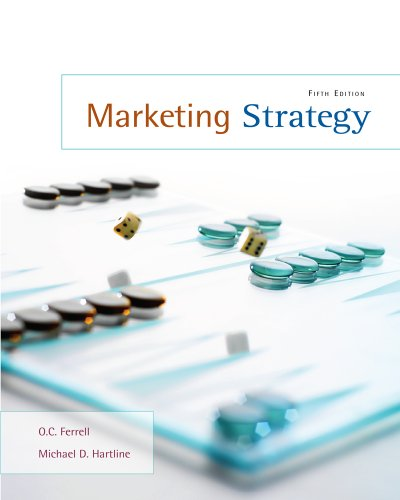 Marketing Strategy  5th 2011 9780538467384 Front Cover