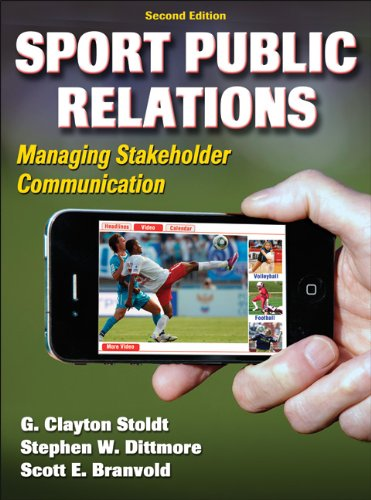 Sport Public Relations Managing Stakeholder Communication 2nd 2012 edition cover