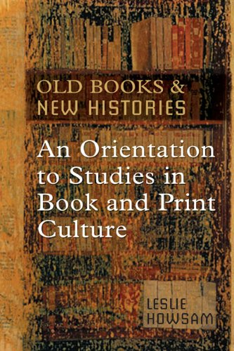 Old Books and New Histories An Orientation to Studies in Book and Print Culture  2006 edition cover