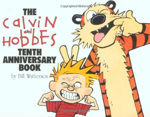 Calvin and Hobbes Tenth Anniversary Book  10th 1995 (Anniversary) edition cover