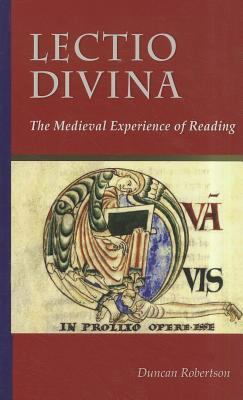Lectio Divina The Medieval Experience of Reading  2011 edition cover