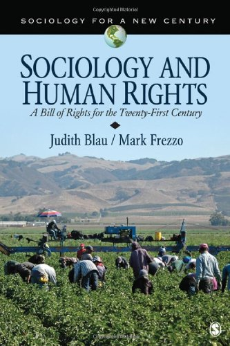 Sociology and Human Rights A Bill of Rights for the Twenty-First Century  2012 edition cover