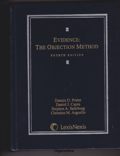 Evidence The Objection Method 4th 2011 edition cover