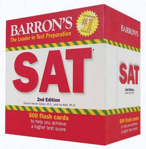 Barron's SAT Flash Cards, 2nd Edition  2nd 2011 (Revised) edition cover