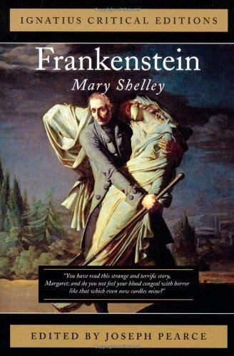 Frankenstein Ignatius Press Critical Editions N/A edition cover
