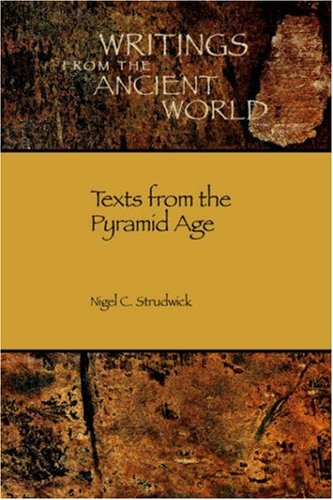 Texts from the Pyramid Age   2005 edition cover