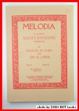 Melodia - A Course In Sight-singing:  2004 edition cover