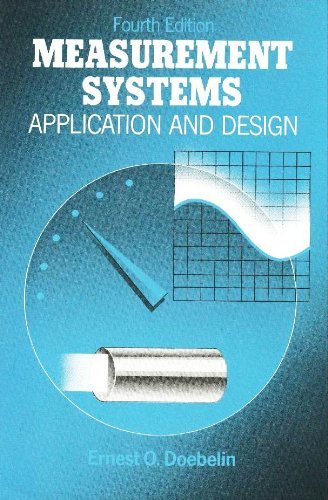 Measurement Systems Application and Design 4th 1990 9780070173385 Front Cover