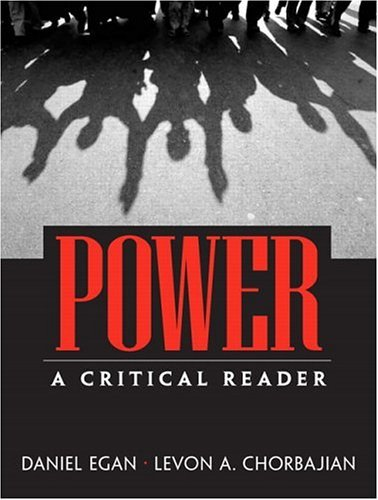Power A Critical Reader  2004 edition cover