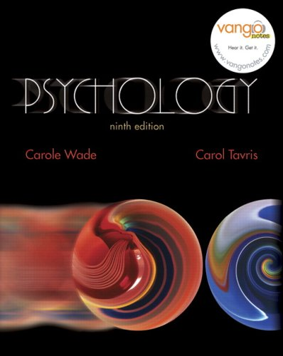 Psychology  9th 2008 edition cover