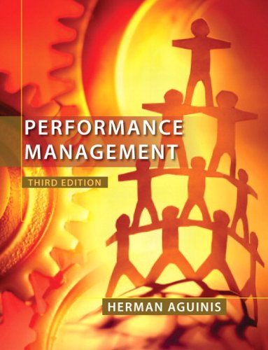 Performance Management  3rd 2013 (Revised) edition cover