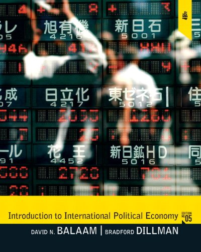 Introduction to International Political Economy  5th 2011 edition cover