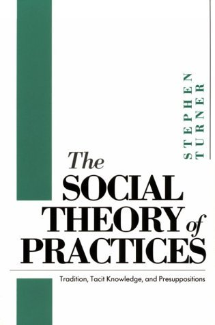 Social Theory of Practices Tradition, Tacit Knowledge, and Presuppositions N/A 9780226817385 Front Cover
