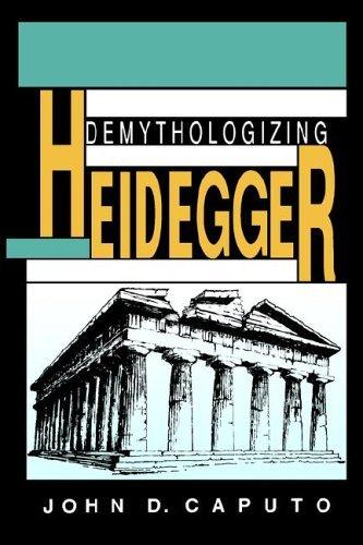 Demythologizing Heidegger   1993 edition cover