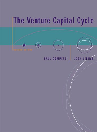 Venture Capital Cycle  2nd 2006 9780262572385 Front Cover