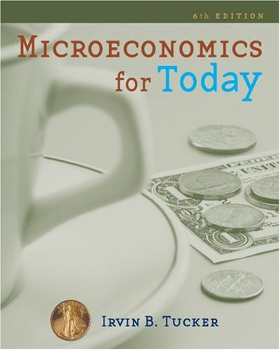 Microeconomics for Today  6th 2010 edition cover