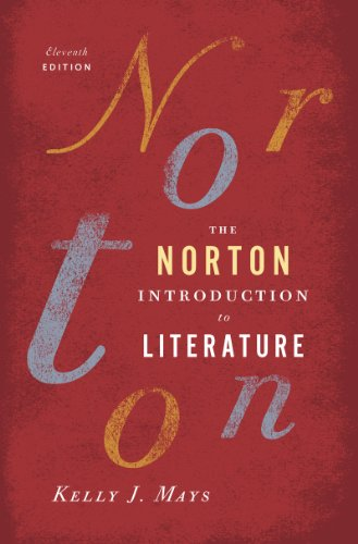 Norton Introduction to Literature  11th 2013 9780393913385 Front Cover