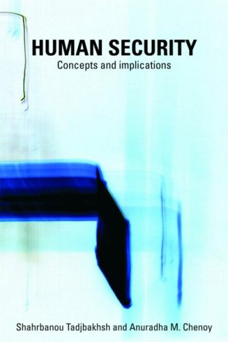 Human Security Concepts and Implications  2009 edition cover