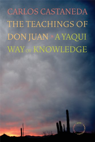 Teachings of Don Juan A Yaqui Way of Knowledge 40th 2008 edition cover