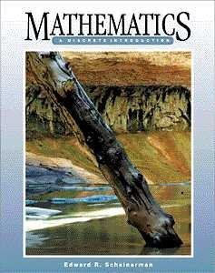 Mathematics A Discrete Introduction  2000 edition cover