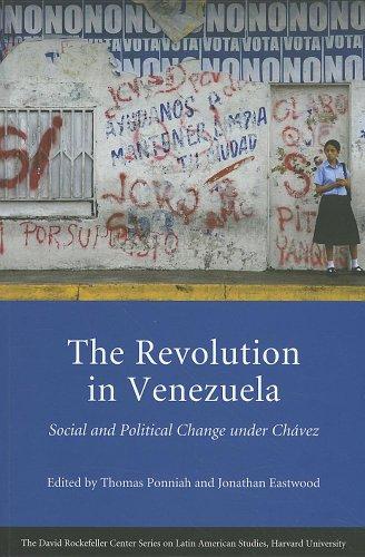 Revolution in Venezuela Social and Political Change under Ch�vez  2011 9780674061385 Front Cover