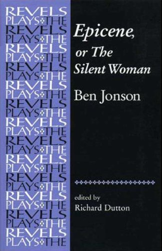 Epicene, or the Silent Woman   2008 edition cover