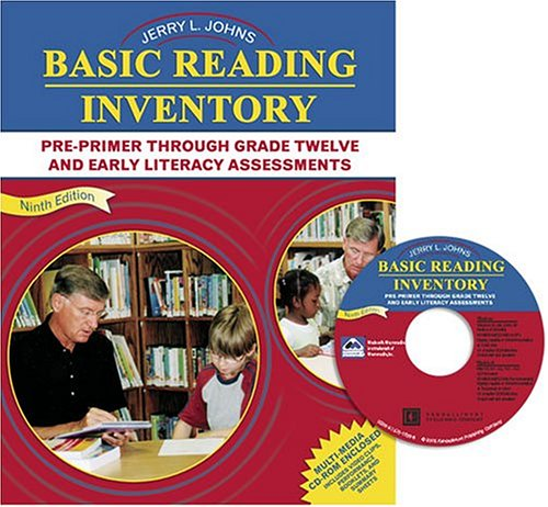 Basic Reading Inventory Pre-Primer Through Grade Twelve and Early Literacy Assessments 9th 2005 (Revised) 9780757515385 Front Cover