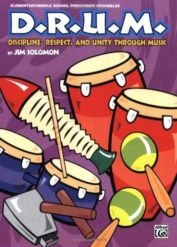 D. R. U. M. Discipline, Respect and Unity Through Music  1998 edition cover