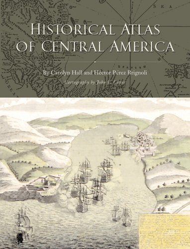 Historical Atlas of Central America   2005 edition cover