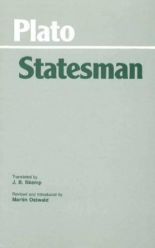 Plato's Statesman  Reprint edition cover