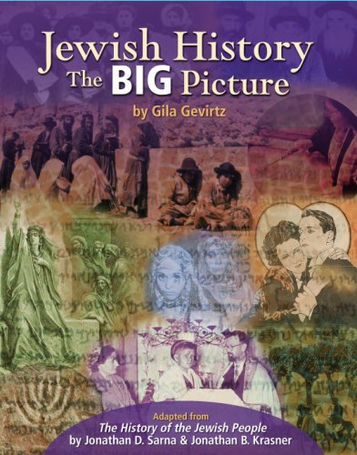 Jewish History : The Big Picture  2008 edition cover