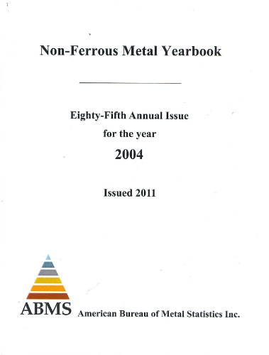 Abms Non-ferrous Metal Yearbook:  2009 edition cover