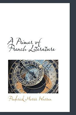 Primer of French Literature  2009 edition cover