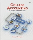 College Accounting A Career Approach (with QuickBooks Accountant 2015 CD-ROM) 12th 2015 9781305863385 Front Cover