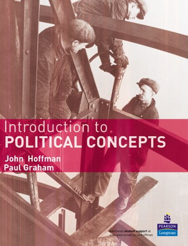 Introduction to Political Concepts   2006 9781405824385 Front Cover