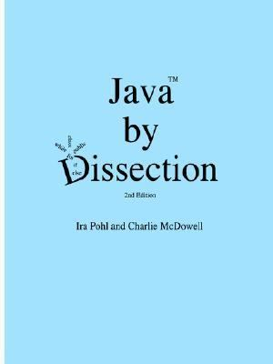 Java by Dissection  2nd 2006 edition cover