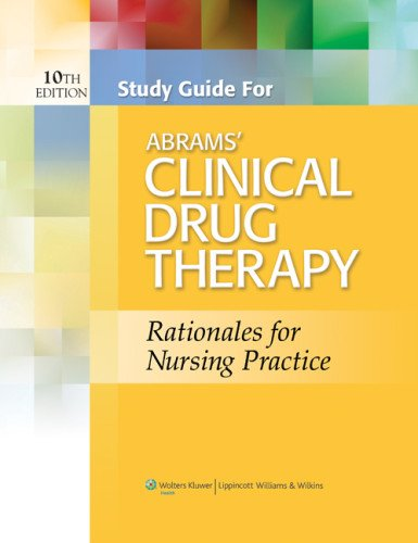 Clinical Drug Therapy Rationales for Nursing Practice 10th 2014 (Revised) edition cover