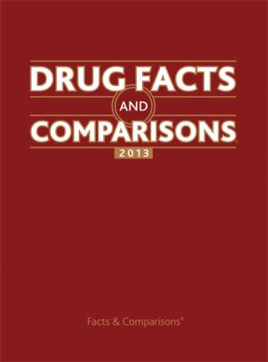 Drug Facts and Comparisons 2013  67th 2012 edition cover